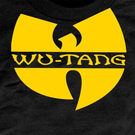 Wu Tang Shirt Wu Tang Logo Wu Tang Clan T Shirt Wu Tang Etsy