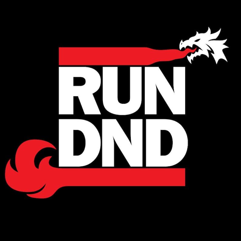 Run DnD D&D Pathfinder RPG shirt