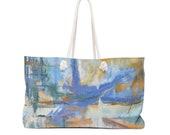 Weekender Bag Seaside Sunset Abstract