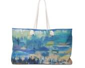 Weekender Bag Abstract Wave