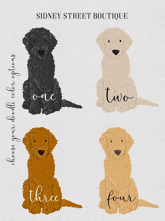 Iphone Ipad Goldendoodle Wallpaper Background Photo Cell Etsy