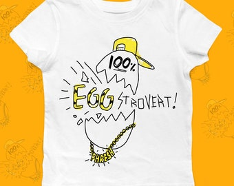b43facd9fa09 Maglietta per bambini   abbigliamento Vegan   Vegan camicia   uovo camicia    personalizzata regalo   Baby regalo   regalo per lei   regali per lui    FREE ...