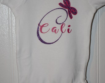 Custom name bodysuit
