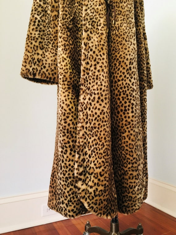 70's 80's Faux Fur FULL LENGHT Teddy Coat By J. P… - image 5
