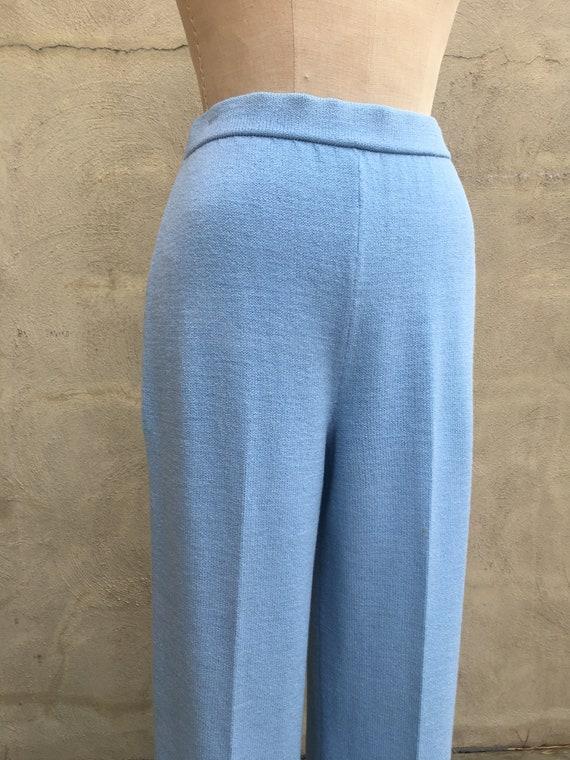 90's Vintage St. JOHN COLLECTION Knit Pants in Li… - image 2