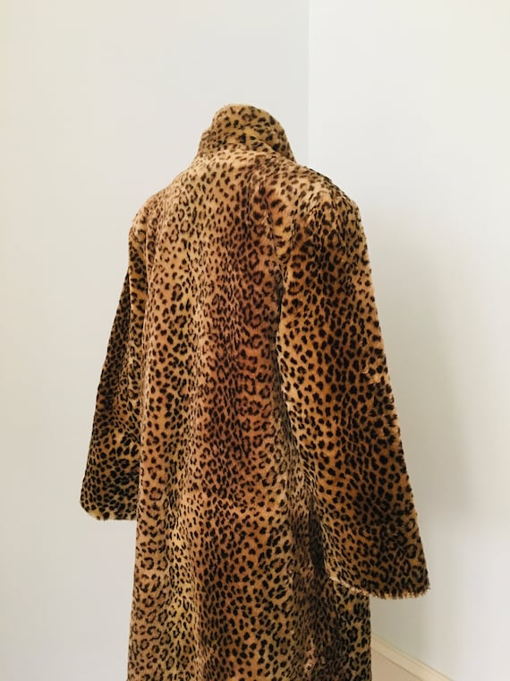 70's 80's Faux Fur FULL LENGHT Teddy Coat By J. P… - image 6