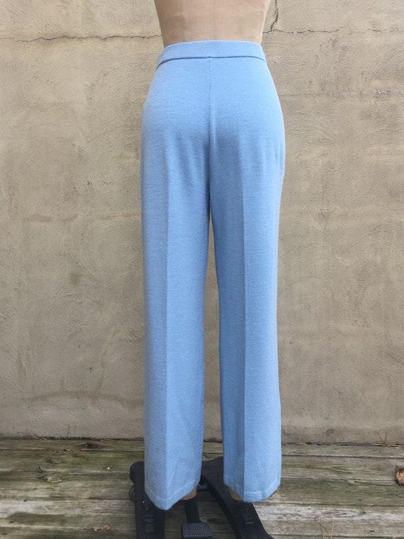 90's Vintage St. JOHN COLLECTION Knit Pants in Li… - image 6