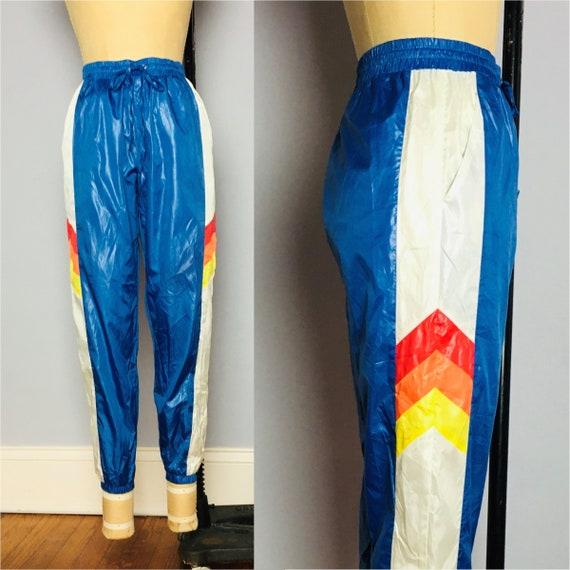 80's Vintage Bright Track Pants