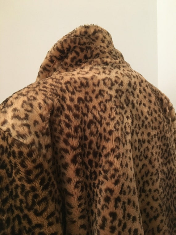 70's 80's Faux Fur FULL LENGHT Teddy Coat By J. P… - image 7