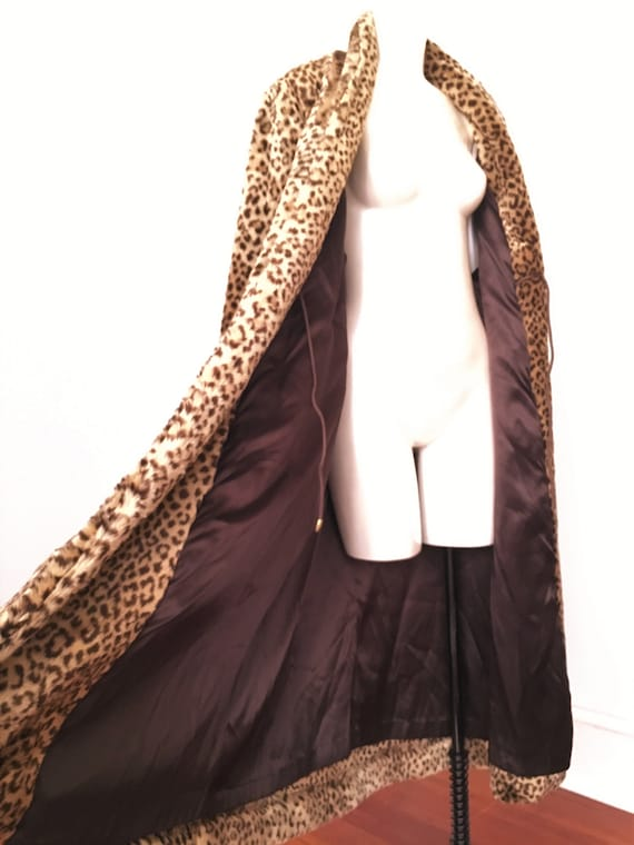 70's 80's Faux Fur FULL LENGHT Teddy Coat By J. P… - image 8