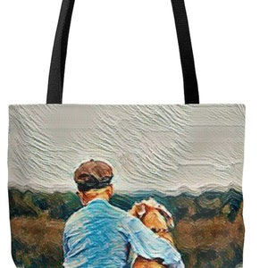 Tote Bag,Custom,Photo,Tote,Lined Tote,Family Theme,Bag,Mom Tote,for Grandmother,Keepsake,Gift,for Her,for Him,Pet Bag,Color,Size,Personalize