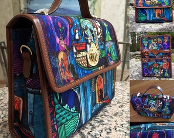 Messenger Bag ∙ Limited Edition ∙ Beauty and the Beast ∙ Tale as Old as Time ∙ Fairy Tale Theme Gift ∙ Crossbody Bag ∙ School Bag ∙ Art Bag