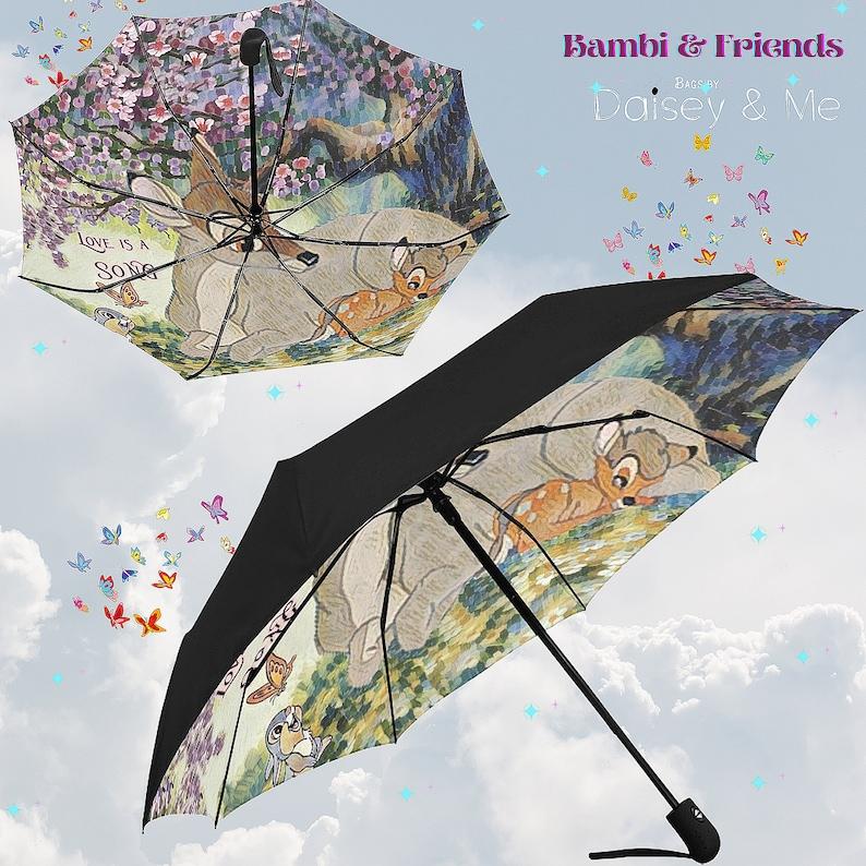 Bambi and Friends \u2219 Commuter Tote Bag \u2219 Forest Animals Theme \u2219 Thumper \u2219 School Bag \u2219 Satchel \u2219 Shoulder Bag \u2219 Messenger \u2219 Umbrella \u2219 Wallet