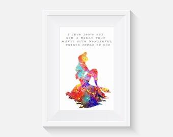 Little mermaid quote | Etsy