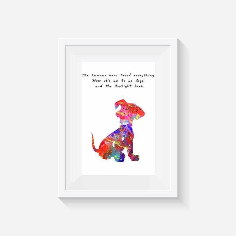 101 dalmatians - Disney - wall decor - art prints - quote prints - prints -  watercolour poster