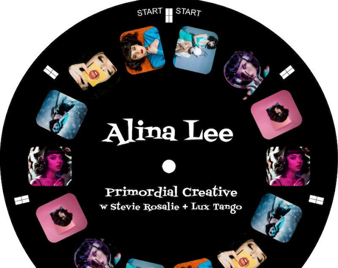 Featured listing image: Alina Lee custom View-Master REEL ONLY art model photography