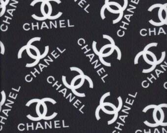 Chanel Inspired Lycra Spandex 1yd
