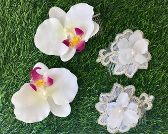 Beach,pool,flower girl - pretty haircombs for all occasions