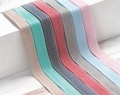 Cotton Chevron Striped Ribbon in a Variety of Colors