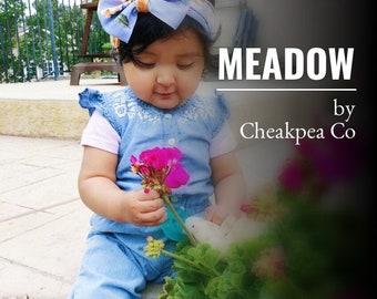 MEADOW hair bow