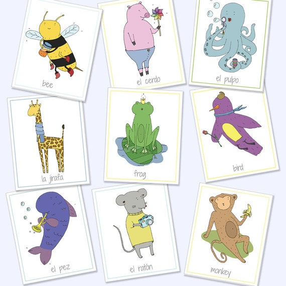 photo regarding Printable Animal Flash Cards referred to as English Spanish Bilingual Animal Flash Playing cards, Printable Online games, Enlightening Game titles, Animal Playing cards, Animal Flash Playing cards, Electronic Obtain