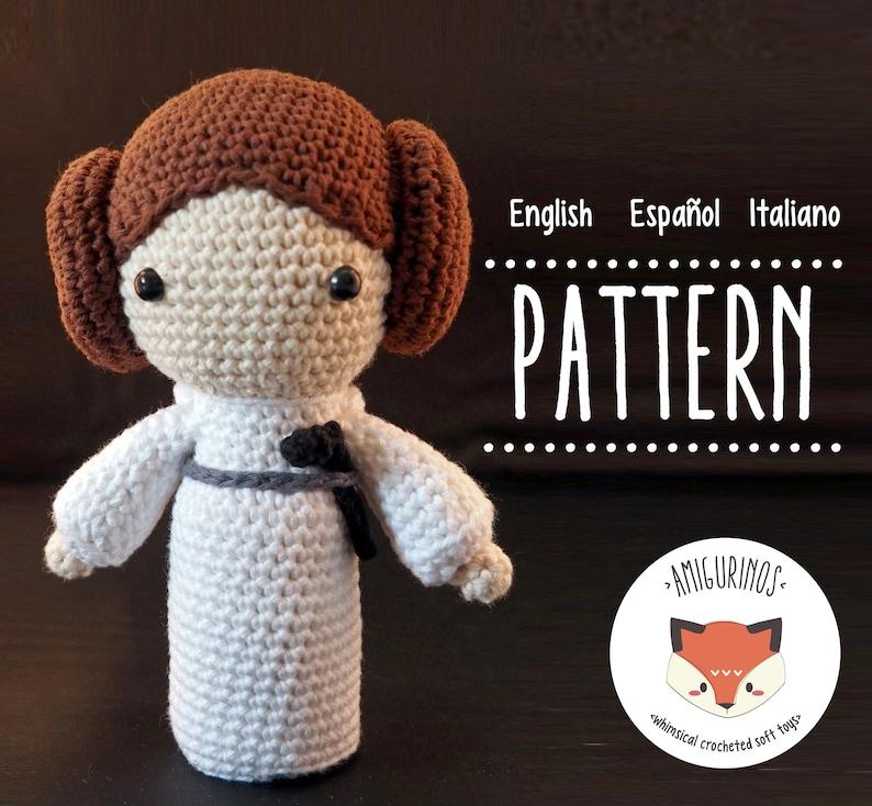 Princess Leia Inspired Crochet Beanie   AllFreeCrochet.com   734x794