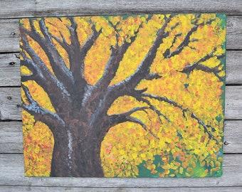 Autumn Tree Painting