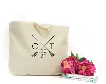 Flowers Print Therapist Bag