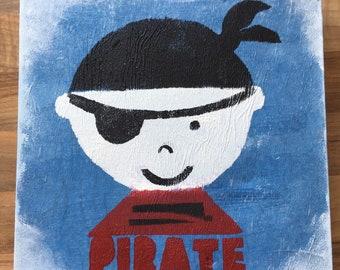 Childrens' Art work -pirate
