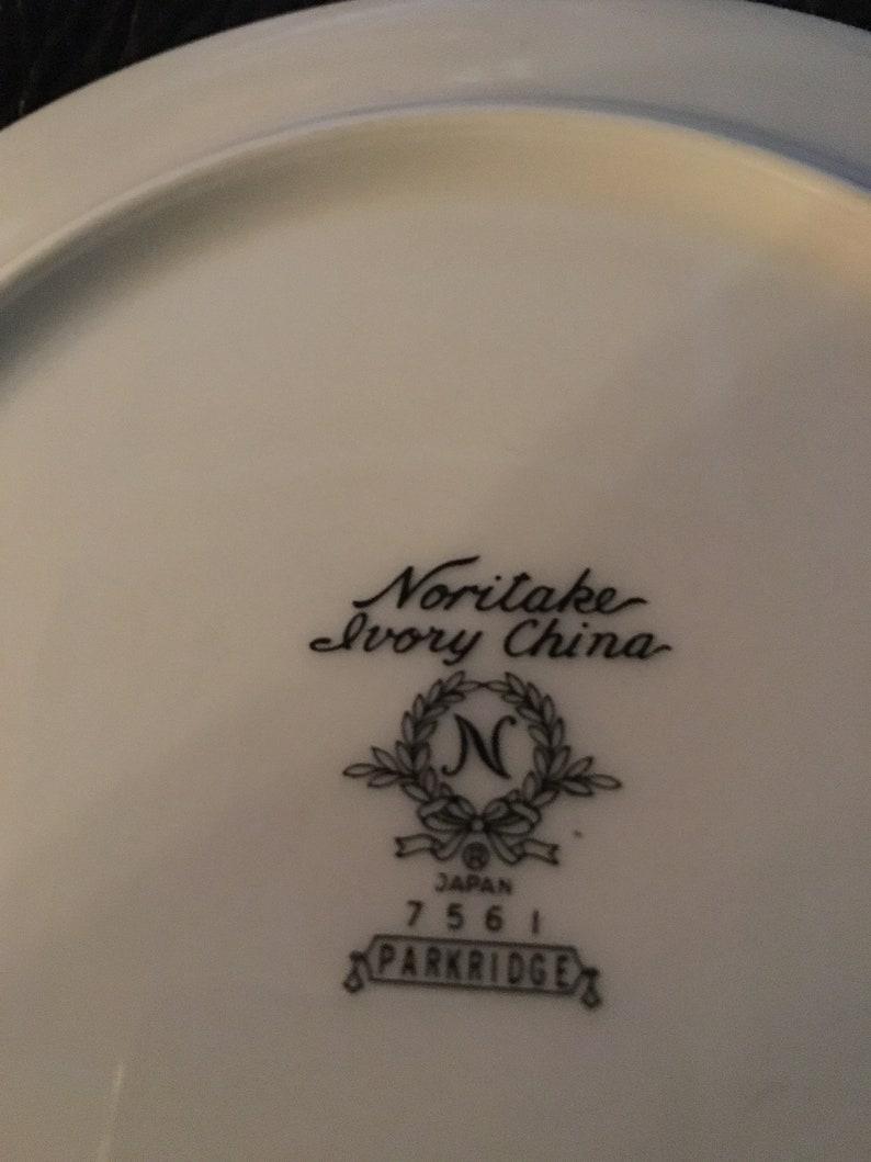 Vintage Noritake China Parkridge Pattern Bread Plate