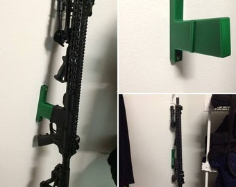 3d printed vertical wall mount with catch release