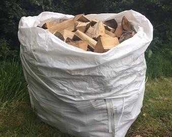 Kiln dried firewood logs  large bulk bag