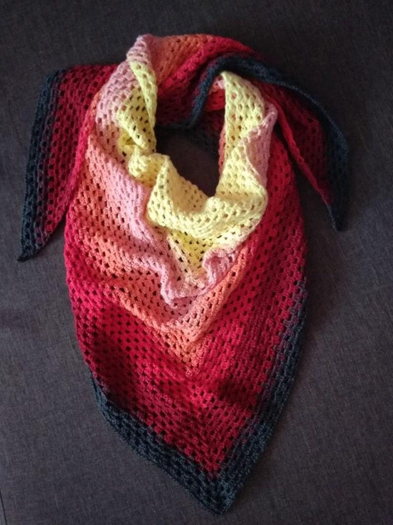 Acrylic Cotton Crochet Mandala yarn 39 Gradient Ombre yarn Gradient Cakes Yarn Knitting Colour Change