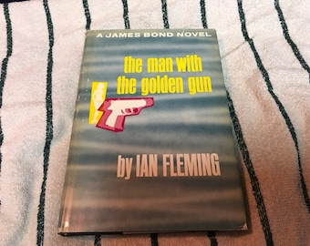 The Man With The Golden gun Hardcover Book