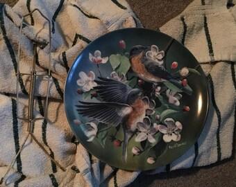 The Bluebird Edwin Knowles Plate