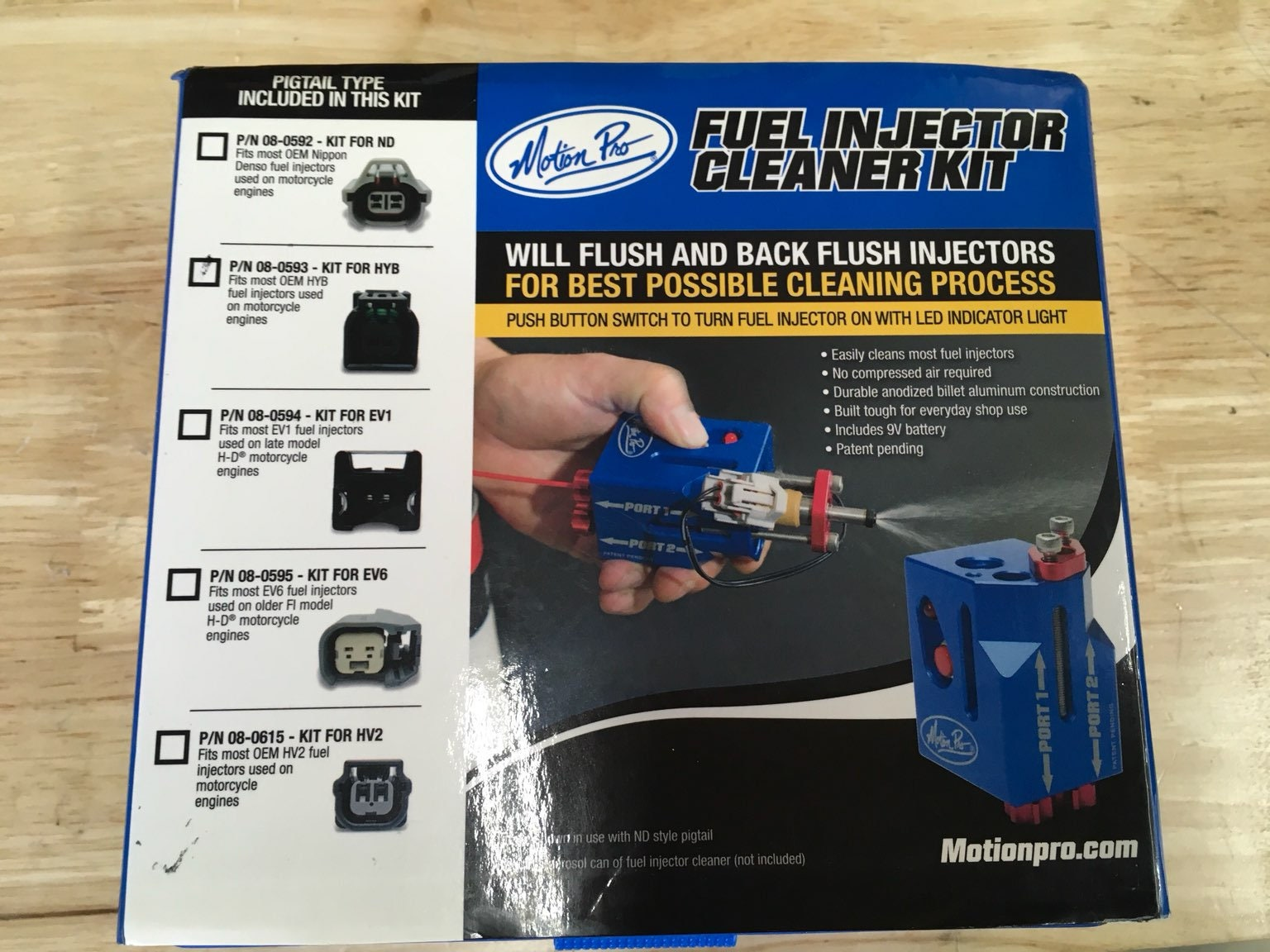 Motion Pro Fuel Injector Cleaner 08-0593
