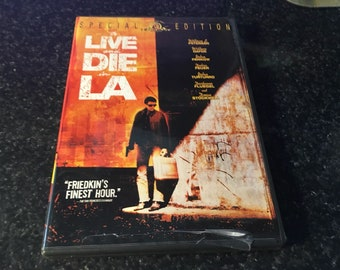 To Live And Die In LA dvd Movie  isbn 0-7928-5891-3