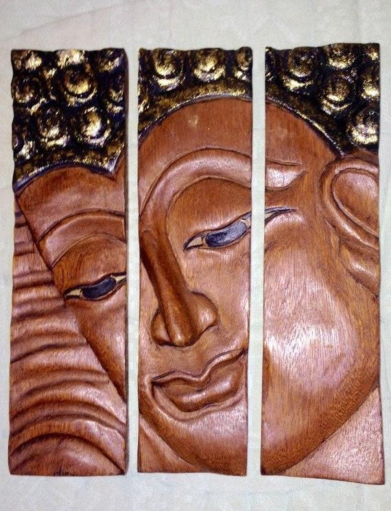Art Sculpture Buddha, Wall Art, Spiritual Art, Home Decor, Buddhist Decor,  Housewarming, Zen House, Buddhist, Yoga Art, Art Inspiration