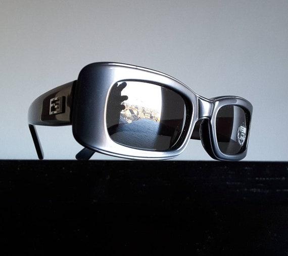 Holiday Eyewear. Dark Tint 90s Unisex Deadstock Vintage UV Sunglasses Semi Transculcent Sunglasses