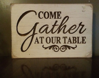 Sign, Christmas, Carved, Plaque, Free Shipping, Distressed