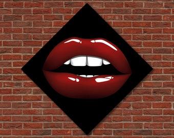 Clip Art Lips - Ahhh