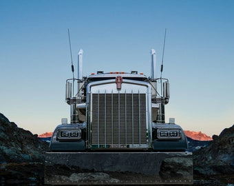 Kenworth Truck in the Mountains