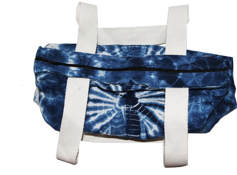 Tie Dye Indigo Tote Bohemian Style Bag TOTE03