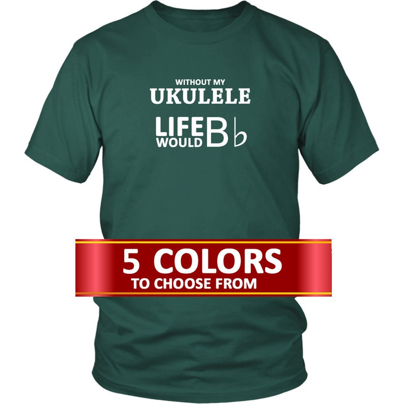 Gift For Ukulele Player Ukulele Tee Shirt Ukulele Player Etsy