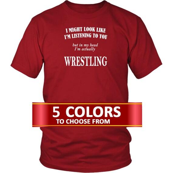Wrestling T Shirt Gift For Wrestler Great Gift Idea For A Wrestling Fan Wwe T Shirt Gift Idea For A Wwe Fan Ideal Gift For A Wrestler