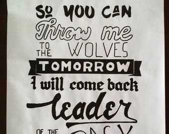 BMTH Throne Quote