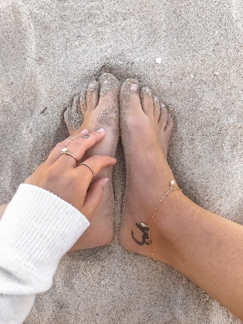 Keshi Pearl Anklet