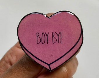 Heart Pin Badge
