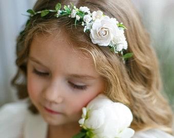 Child Flower Crown Etsy