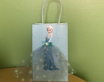 Elsa Frozen birthday bag